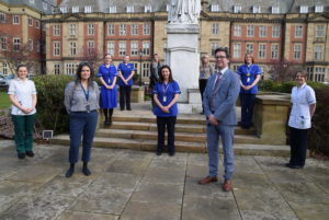 Newcastle Hospitals Neuro oncology team at the RVI